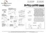 Bifold Installation Guide