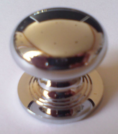 Chrome Pivot Knob
